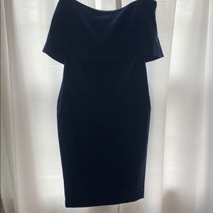 Midnight Blue Likely Cocktail Dress